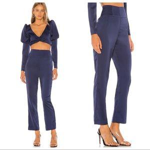 NWT NBD Fleur Trouser in Blueberry